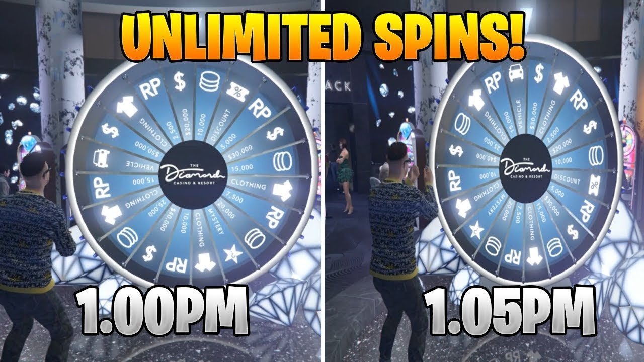GTA 5 ONLINE UNLIMITED DAILY WHEEL SPIN CASINO GLITCH! FREE CASINO CARS *EASY* XBOX,PS4,PC