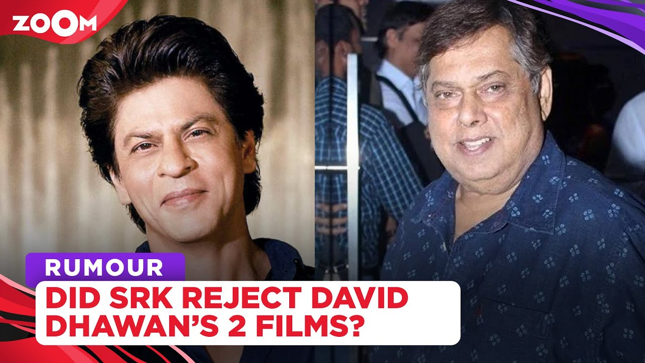 Shah Rukh Khan rejected two films by David Dhawan for THIS reason