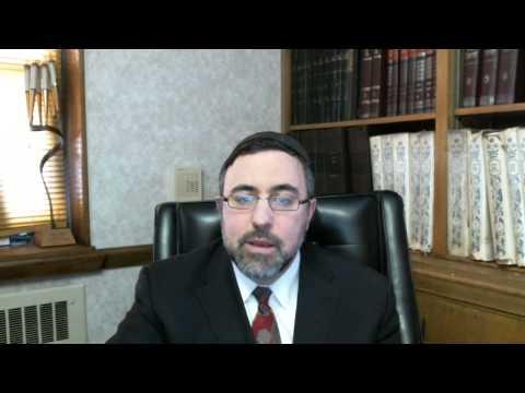 A Video Vort ? - Purim 5773 - Rabbi Etan Tokayer