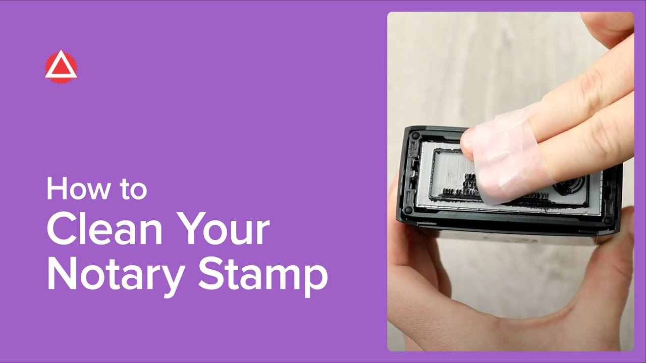 How To Fix A Bad Notary Seal Impression | NNA