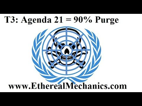 T3: 90% Purge Required for UN Sustainable Development (Agenda 21)