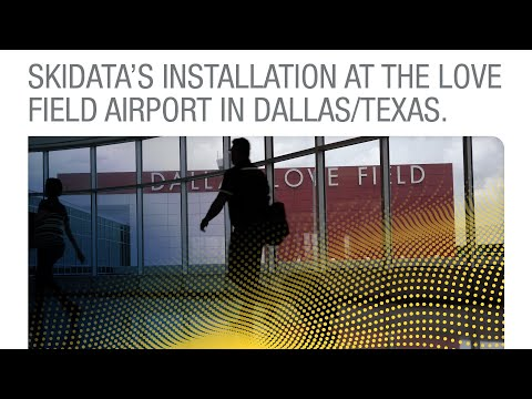 SKIDATA's Installation At The Love Field Airport In Dallas/Texas [ENGLISH]