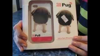 Чехол с мордой собаки для iPhone 4/4S