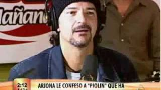 «Ricardo Arjona con PIOLIN POR LA MANANA - 4 Dic, 2008»