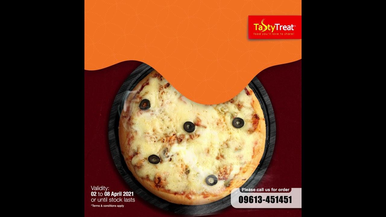 Tasty Treat BBQ Pizza