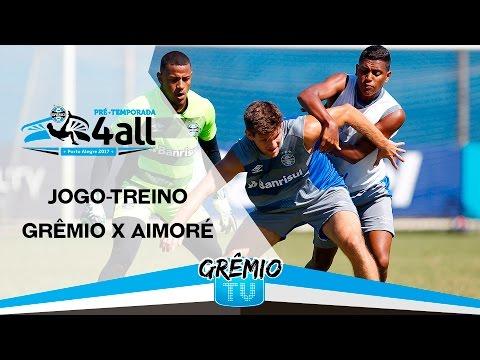 Jogo-Treino Grêmio 1x0 Aimoré l GrêmioTV