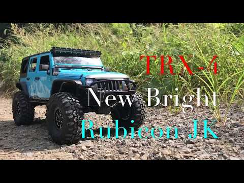 Traxxas TRX4 | New Bright Rubicon 4Dr on the TRX4 | First Run