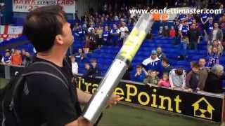 Powerful t-shirt launcher.