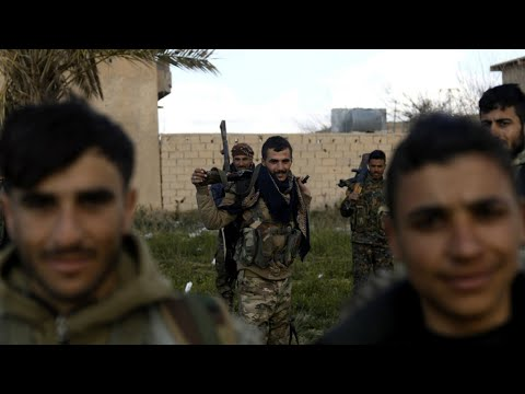 US-backed Syrian forces seek to evacuate civilians from IS group holdout