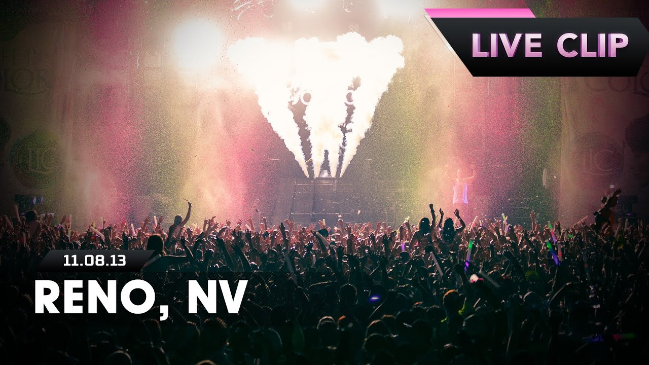 Life In Color Tour Live Clip - Reno, NV - 11/08/13 - YouTube