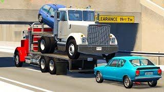 ROAD HAZARD CRASHES #6 - BeamNG Drive   CRASHdriven