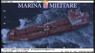 Elicottero della Marina Militare soccorre marittimo infartuato