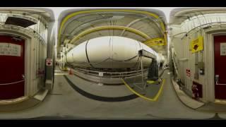 NASA SLS Booster (360 Video)
