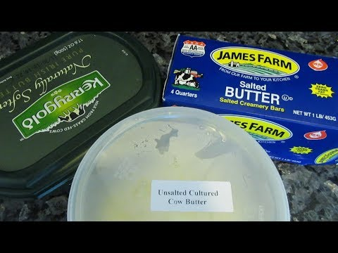 Grass Fed Vs. Grain Fed: BUTTER