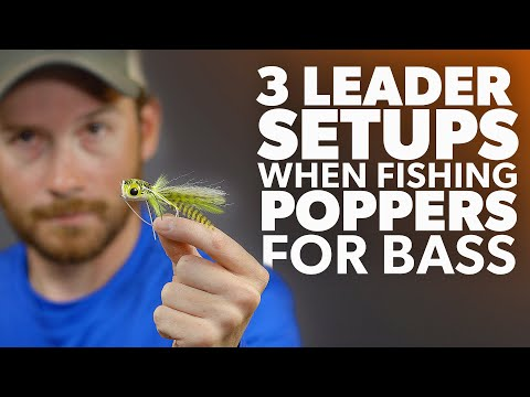 3 Leader OPTIONS When Fishing POPPERS For BASS