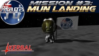 Kerbal Space Program - Mission #3: Mun Landing