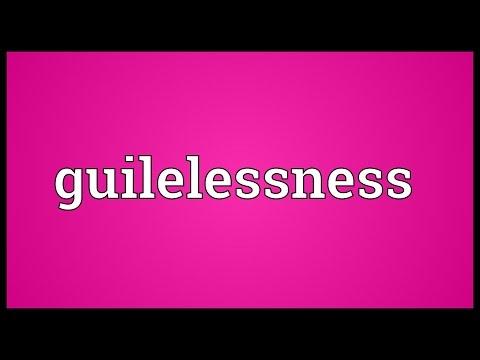 Header of guilelessness