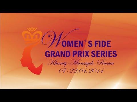 FIDE Women Grand Prix 2014 Round 2 (English Audio)