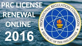 PRC RENEWAL ONLINE APPLICATION SYSTEM thumbnail