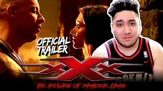 xXx: The Return of Xander Cage Official Trailer #1 REACTION!!!