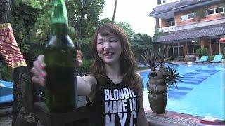 下田美咲が人生初のバリ島を訪れ、日本では経験できないことを通して、...
