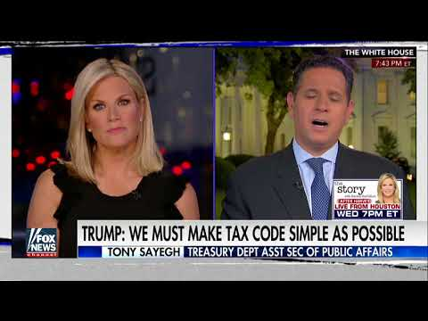Treasury Department assistant secretary on tax reform push