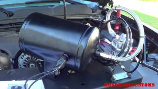 How To Install Kleinn Bolt-On Train Horn Kit on a 2010 Silverado