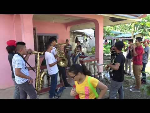 A brass band in Loboc on Bohol, Philippines | Christmas Day, 2015