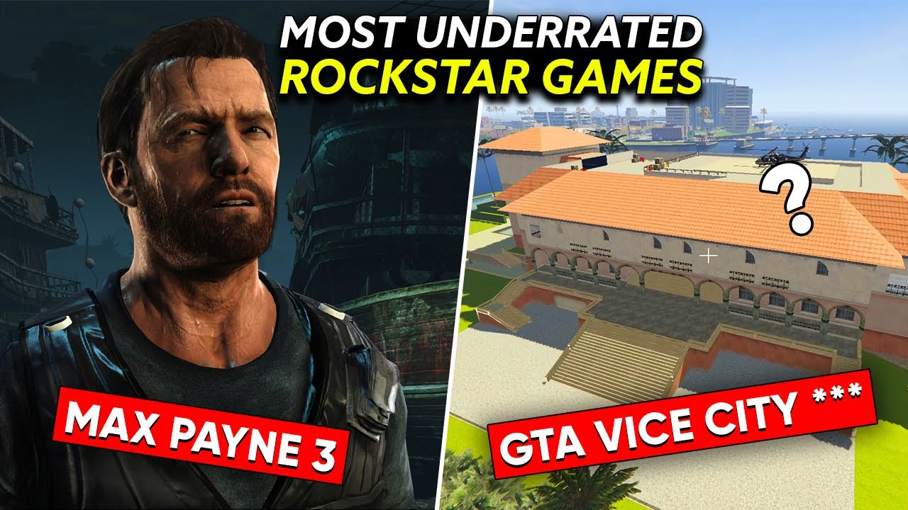 10 MOST UNDERRATED Games You Should Play Before You Die!
