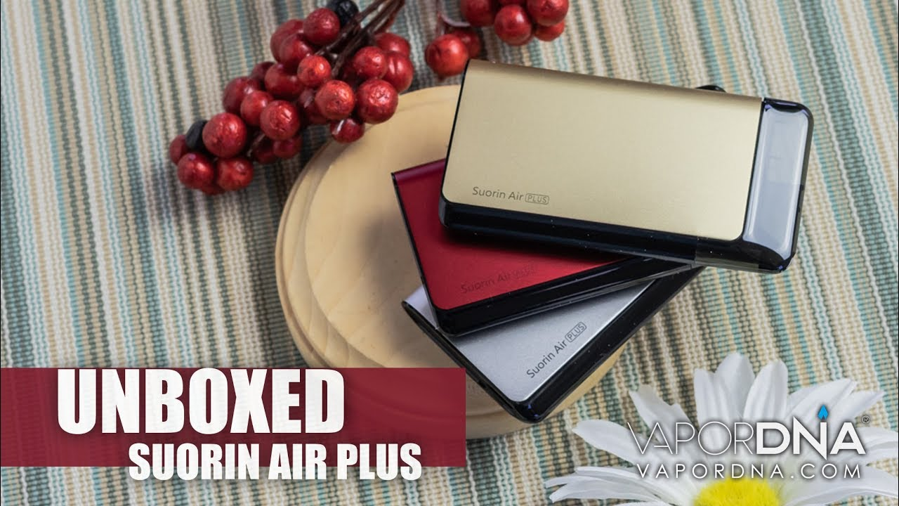 UNBOXED with VaporDNA The Suorin Air Plus Pod System