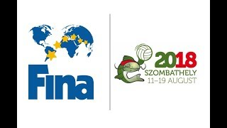 4th FINA World Men's Youth Water Polo Championships 2018 - Day #5