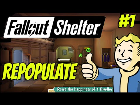 Fallout Shelter #1 - Let's Repopulate the Vault - E3 2015 Release (iOS Gameplay)