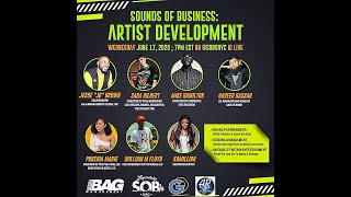 Sounds Of Business: Artist Developement. - Presented by Good Deeds, BAG Management, Arts and Rhymes