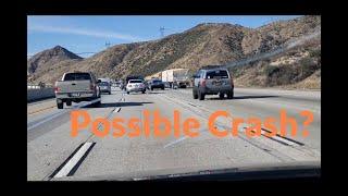 Possible crash? / Accidente