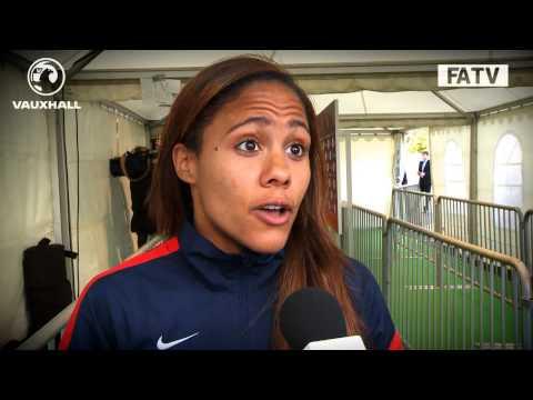 England Women 1-1 Russia: Alex Scott interview