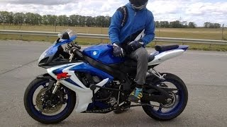 SUZUKI GSXR - 600!! TOP SPEED, Full Power,
