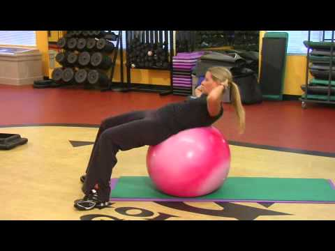 How to Do Crunches on an Exercise Ball