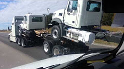 Semi Truck Transportation Delivery