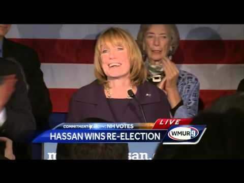 Raw Video: Gov. Maggie Hassan delivers victory speech