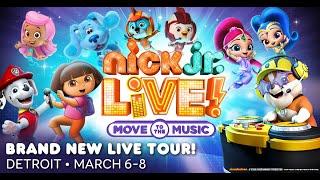 Nick Jr. Live! in Detroit March 14 & 15!