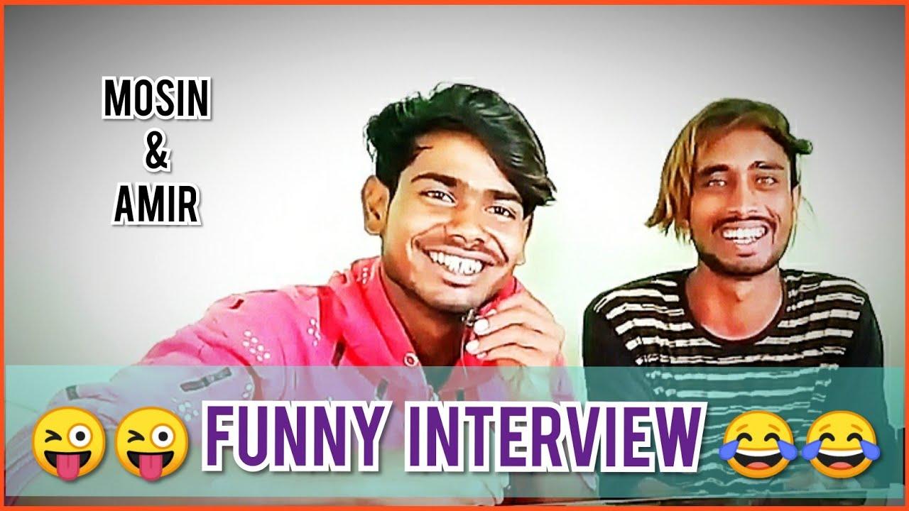 Mosin khan & Amir Pathan FUNNY INTERVIEW |  PARBHANI VINES