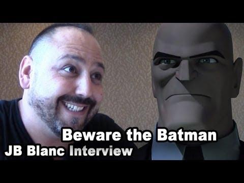 Beware The Batman's Alfred  JB Blanc