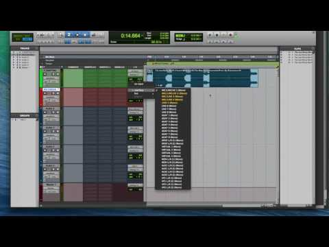 How to set up a recording session in Pro Tools