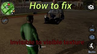 How to fix invisible textures in gta sa android