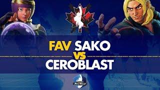 FAV Sako (Menat) VS  Ceroblast (Ken) - Canada Cup 2019 Pools - CPT 2019