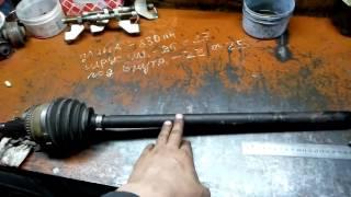 видео Тема: Замена рулевой тяги своими руками.