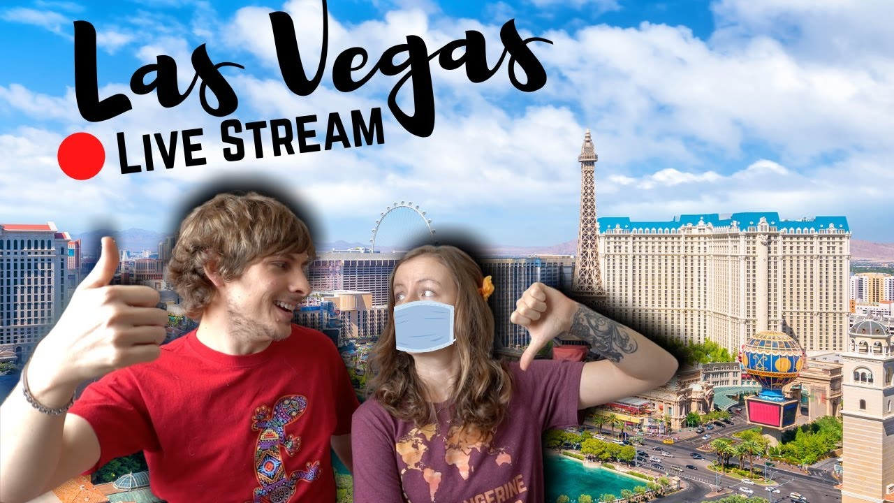 LAS VEGAS IS OPEN ... WITH MASKS REQUIRED