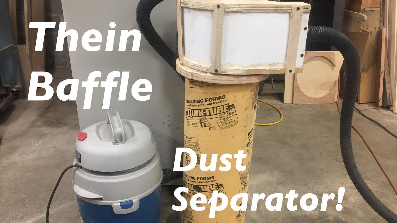 How To Make A Thien Baffle Dust Separator Cyclone Youtube