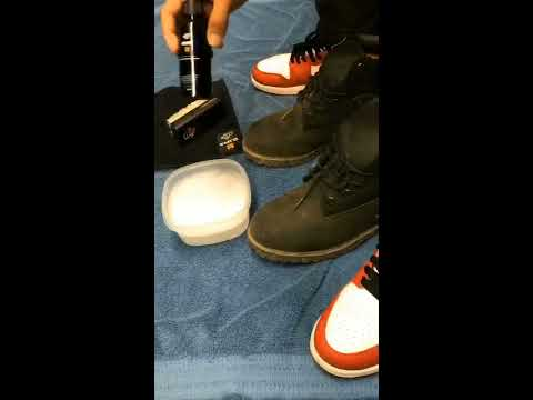 CREP Protect- How To Clean Dirty Old Timbs