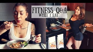 EATING Q&A!! - Thai Food Mukbang